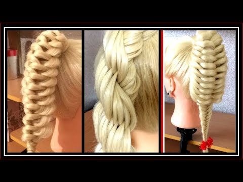 3 UNIQUE  PONY HAIRSTYLES / HairGlamour Styles /  Hair Tutorials thumbnail