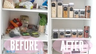 ORGANIZE My Pantry With Me!