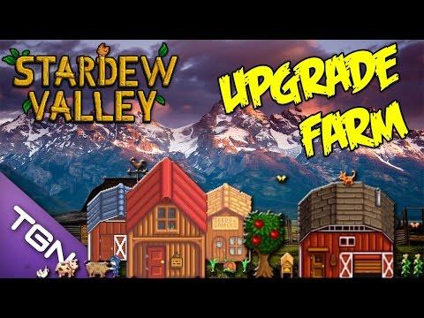 Stardew Valley [มือใหม่ควรรู้]  วิธีการอัพเกรดบ้าน และ สร้างคอกสัตว์เลี้ยง