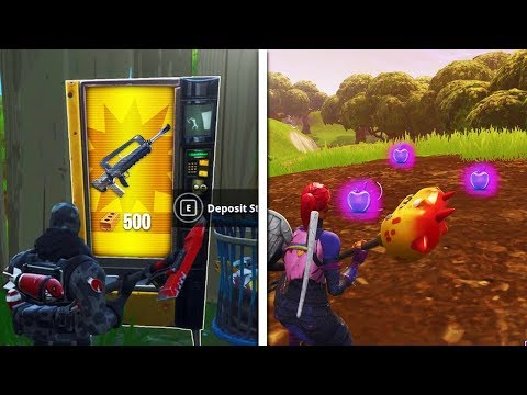 *NEW* Fortnite UPDATE! Fortnite Legendary Burst & Apples! (Fortnite V4.2 Patch)