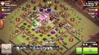 Clash of Clans - TH 11 3 star GoWitch+ Helaer Slovenija CW