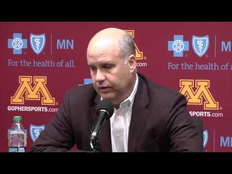 Press Conference: Pam Borton Relieved of Coaching Duties at Minnesota