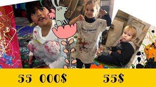 Как научить ребенка рисовать ЭКСПЕРИМЕНТ как вырастить гениального художника СМОТРИТЕ САМИ