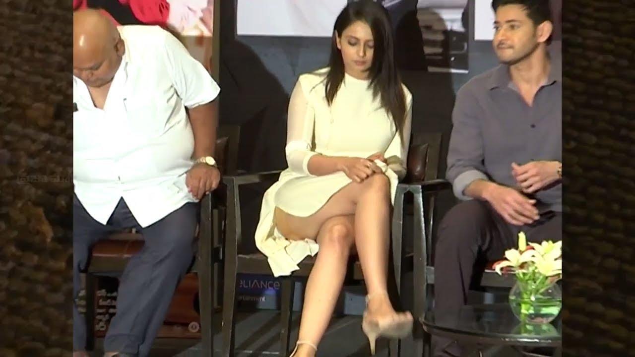 Actress Rakul Preet Singh Exposing Her Glamour At SPYder