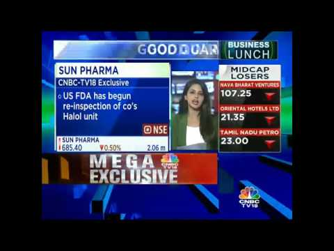 Sun Pharma's Mohali Unit Receives Observations From US FDA
