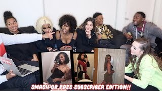 SMASH OR PASS *SUBSCRIBER EDITION* Ft. Woah Vicky, Tytheguy, TeeTee, Diamond, Silly T.O & his crush