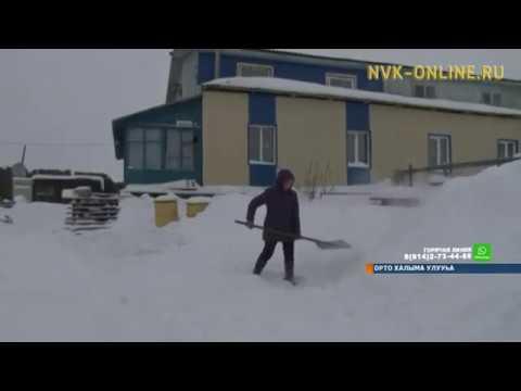 Метель бушует и в Среднеколымском районе
