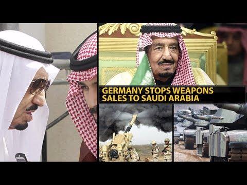 Germany Stops Weapons Sales to Saudi Arabia