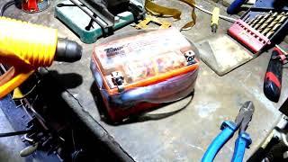 Ремонт аккумулятора скутера