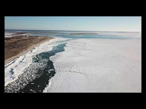 A Frozen Ocean at Cape Cod