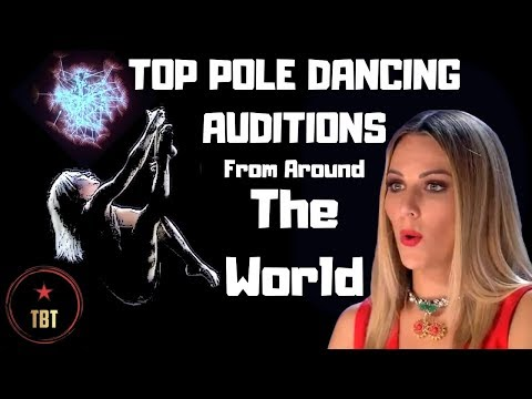 TOP 10 POLE DANCING AUDITIONS From Around The World
