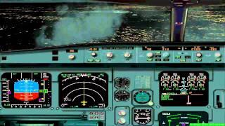 FS2004 - Flight from Honolulu to Frankfurt / Main with A340 Swiss International Airlines.mp4