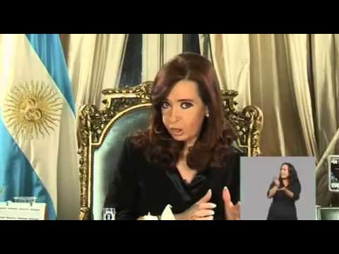 26th August - CFK announces reopening of the third debt swap - subtitled