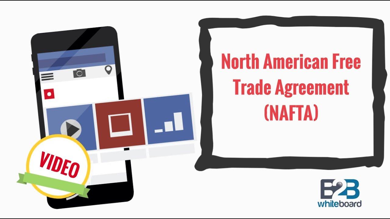 North American Free Trade Agreement Nafta Youtube