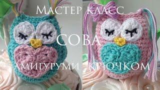 ★ Сова крючком ★ Амигуруми ★ Owl crochet ★ Amigurumi ★