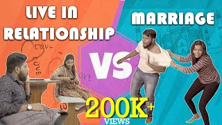 LIVE IN RELATIONSHIP VS MARRIAGE | VEYILON ENTERTAINMENT