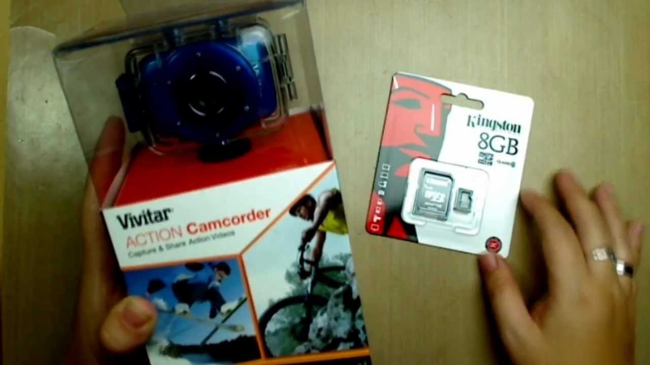 Camera Vivitar Action Cam vivitar dvr785hd action camera unboxing youtube