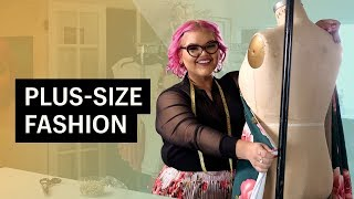 This Project Runway Winner is Changing the Plus Size Fashion Game | My Shopify Business Story