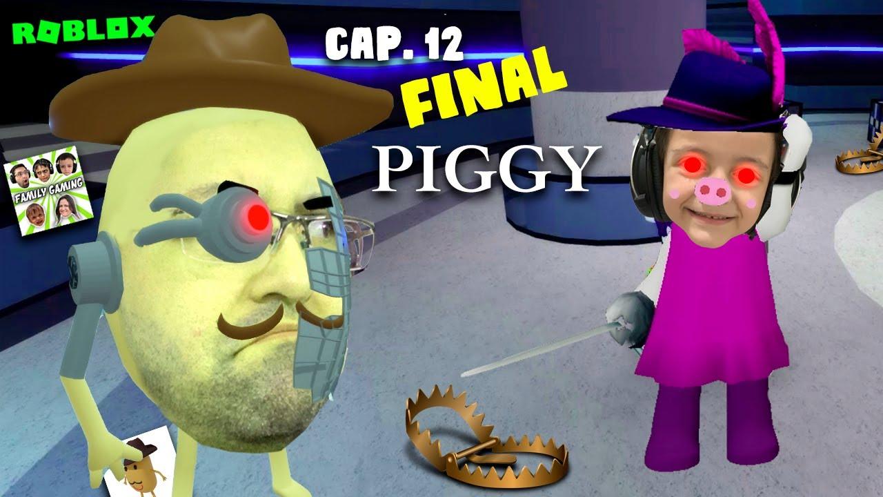 VIREI A ZIZZY NO JOGO DA PIGGY (Roblox Piggy) Family Gaming