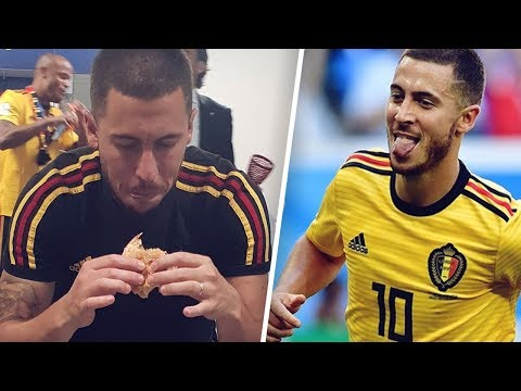The day Hazard ate a burger in the middle of a match! – Oh My Goal