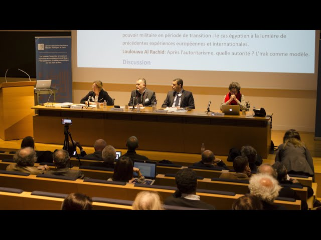 Colloque : Des démocraties en invention ? / Session 3 / CAREP Paris & Collège de France 2019