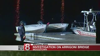 Arrigoni Bridge in Middletown closed for police activity