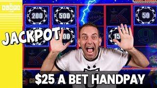 🖐️ $25 Per Bet Handpay! 💰 Jackpot @ Aria Las Vegas ✪ BCSlots
