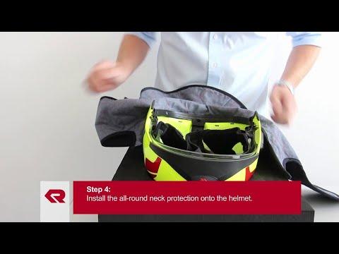 Rosenbauer Firefigthing helmet HEROS-titan - All-round neck protection