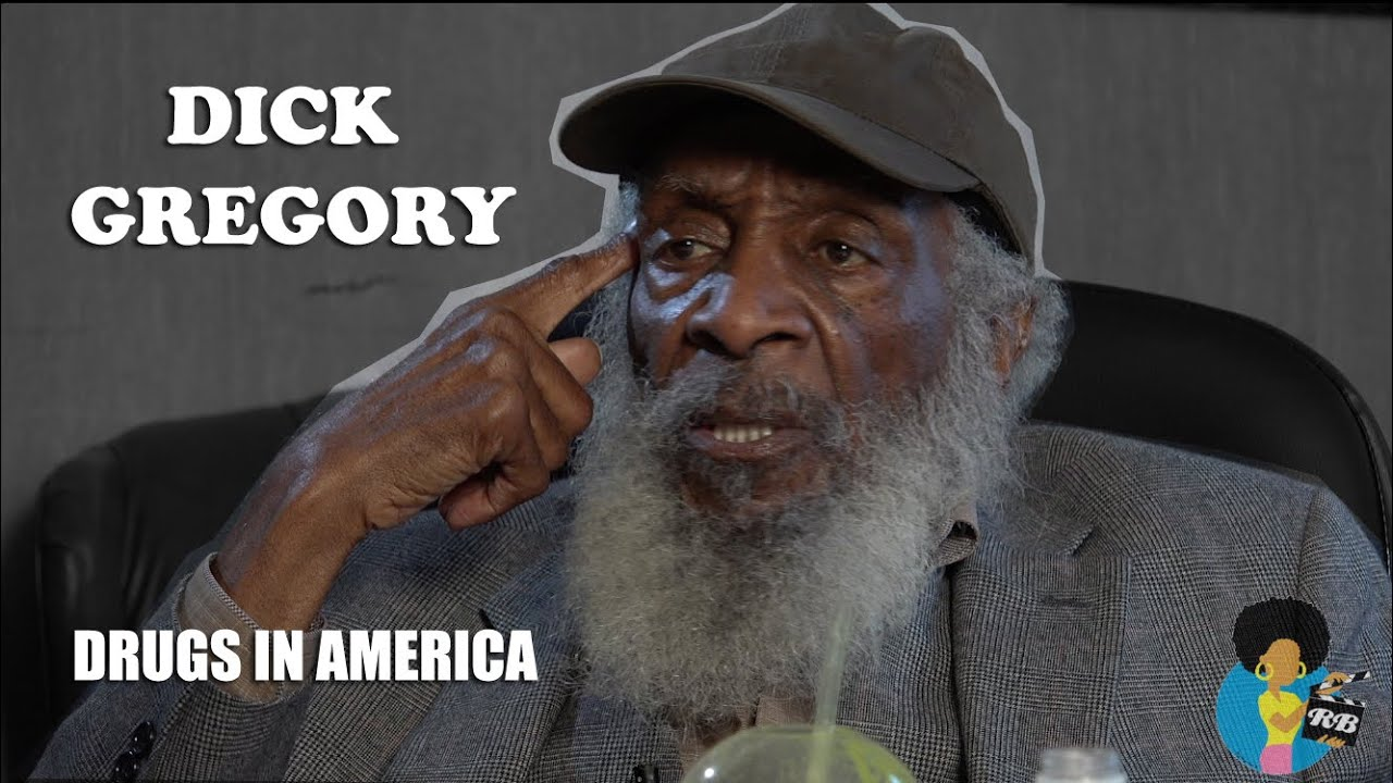 Dick Gregory - El Chapo and Drugs in America