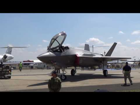 Avalon Airshow 2017 - Australia's first two F-35 Lightning II Joint Strike Fighters