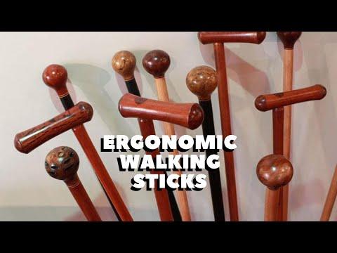 Ergonomic Australian Walking Stick