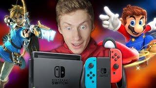 Mitä pelejä omistan Nintendo Switchille?
