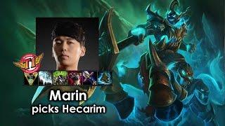 Marin picks Hecarim