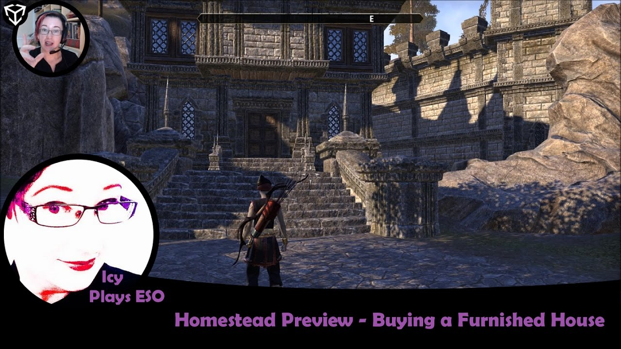Eso Pts  Homestead  Buying A Furnished House  Icy Plays 20170106