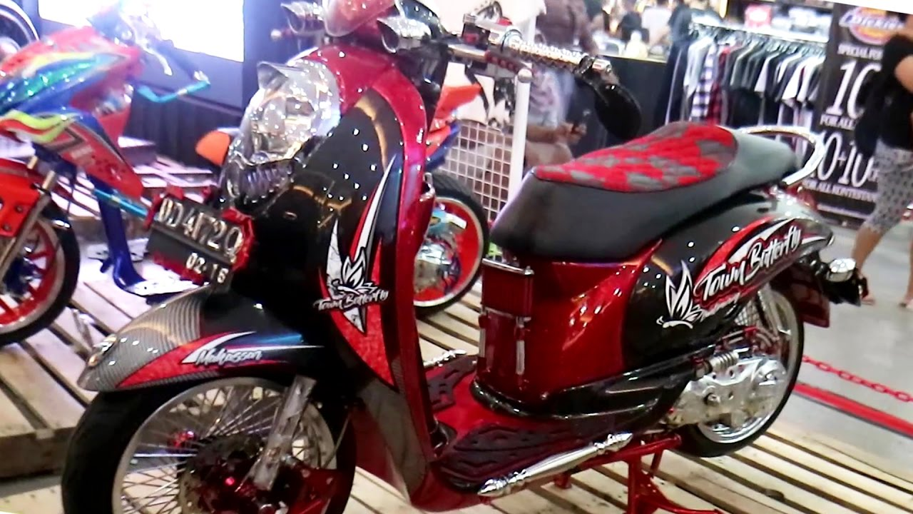 88 Modifikasi Scoopy Indonesia Kumpulan Modifikasi Motor Scoopy