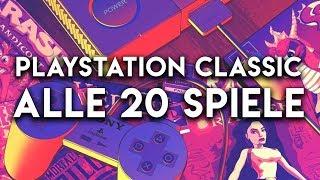 Alle 20 Spiele der PlayStation Classic im Check