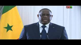 [REPLAY-31 DECEMBRE 2017] : Revivez le discours à la nation du Chef de l'Etat, Macky Sall 1