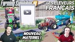LES ÉLEVEURS FRANÇAIS !!! 🐄🇫🇷 (Ft Stervio) - On utilise notre nouveau matériel !