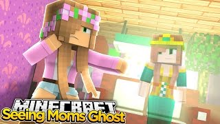 Minecraft - LITTLE KELLY SEES HER MOMS GHOST!