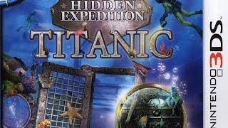 Hidden Expedition Titanic Gameplay {Nintendo 3DS} {60 FPS} {1080p}