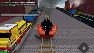 Roblox game end the trein time (I MET STEMYTENK)