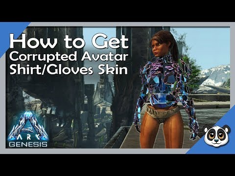 ARK: Genesis Chronicles | How To Get Corrupted Avatar Shirt & Gloves Skin