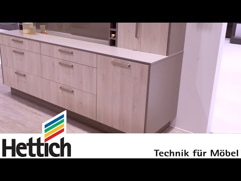 Win storage: the kitchen with character at Interzum 2017