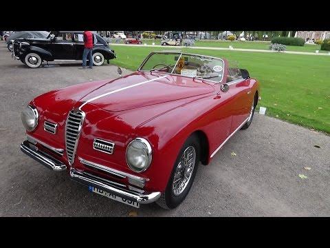 1950 - Alfa Romeo 6C - Exterior and Interior - Classic-Gala Schwetzingen 2015