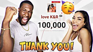 100K SUBSCRIBERS! THANK YOU 🎉