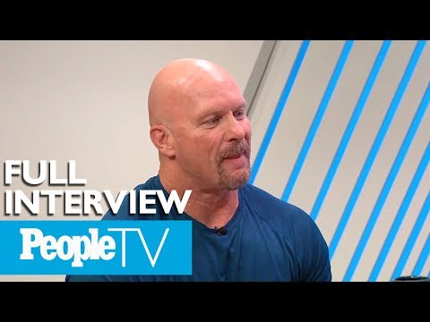 'Stone Cold' Steve Austin Opens Up About His New Show & Looks Back At His WWE Career | PeopleTV