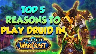 Top 5 Reasons YOU Should Play Druid in Classic WoW