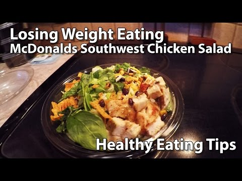 Nutritional information for mcdonalds grilled chicken salad