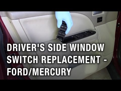 Driver S Side Window Switch Replacement Ford Taurus Mercury Montego Youtube