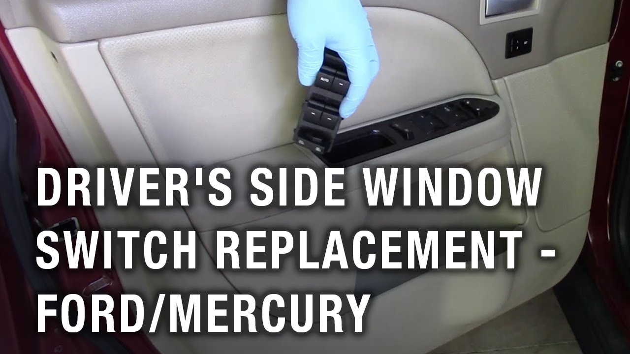 Driver S Side Window Switch Replacement Ford Taurus Mercury Montego